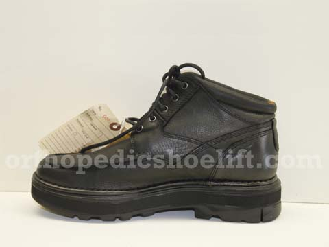 Shoe Lift http://www.orthopedicshoelift.com/boot-shoe-lift.htm